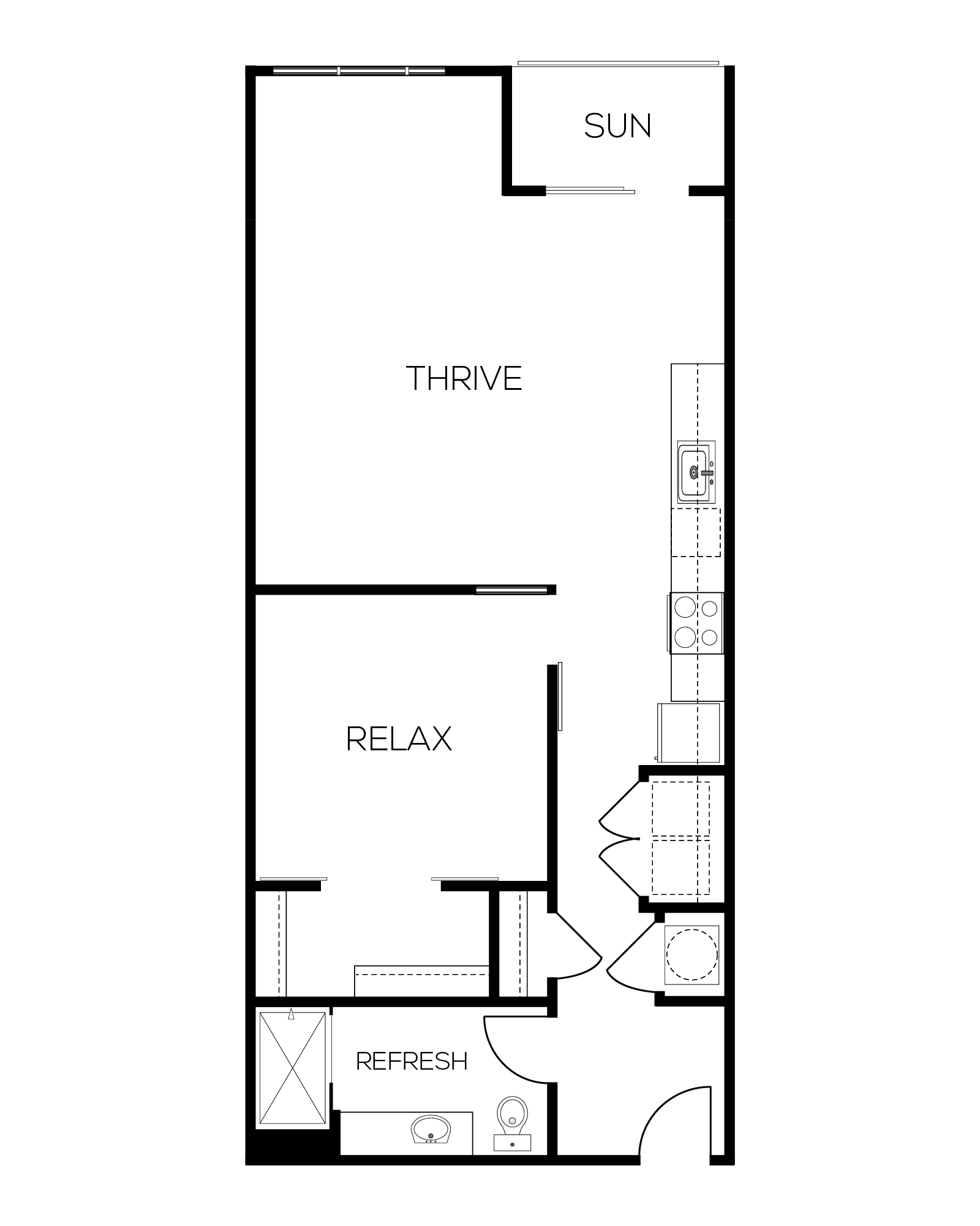 The Auburn Alternate Floor Plan