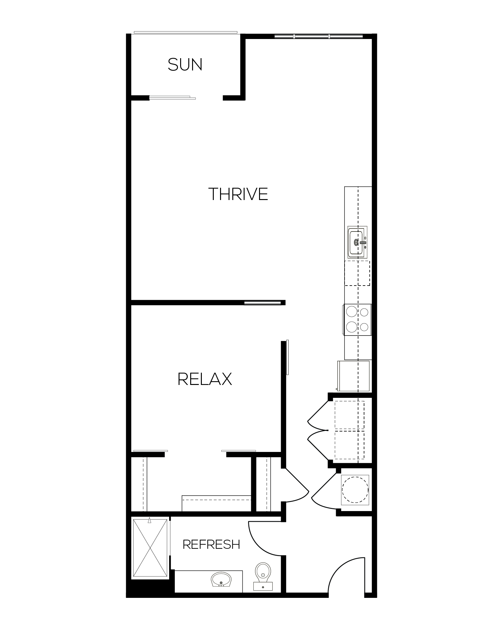 The Auburn Floor Plan