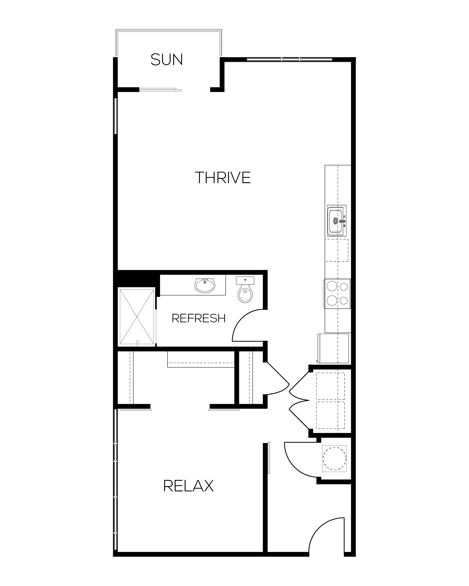 The Claret Floor Plan