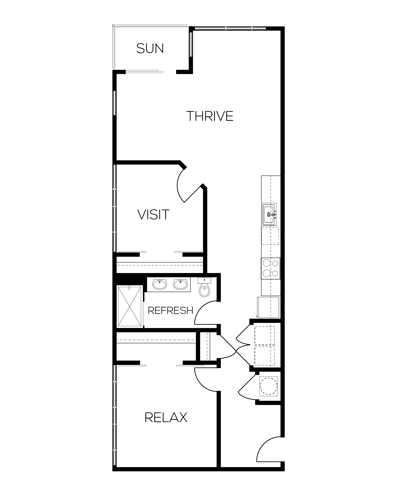 The Garnet Floor Plan