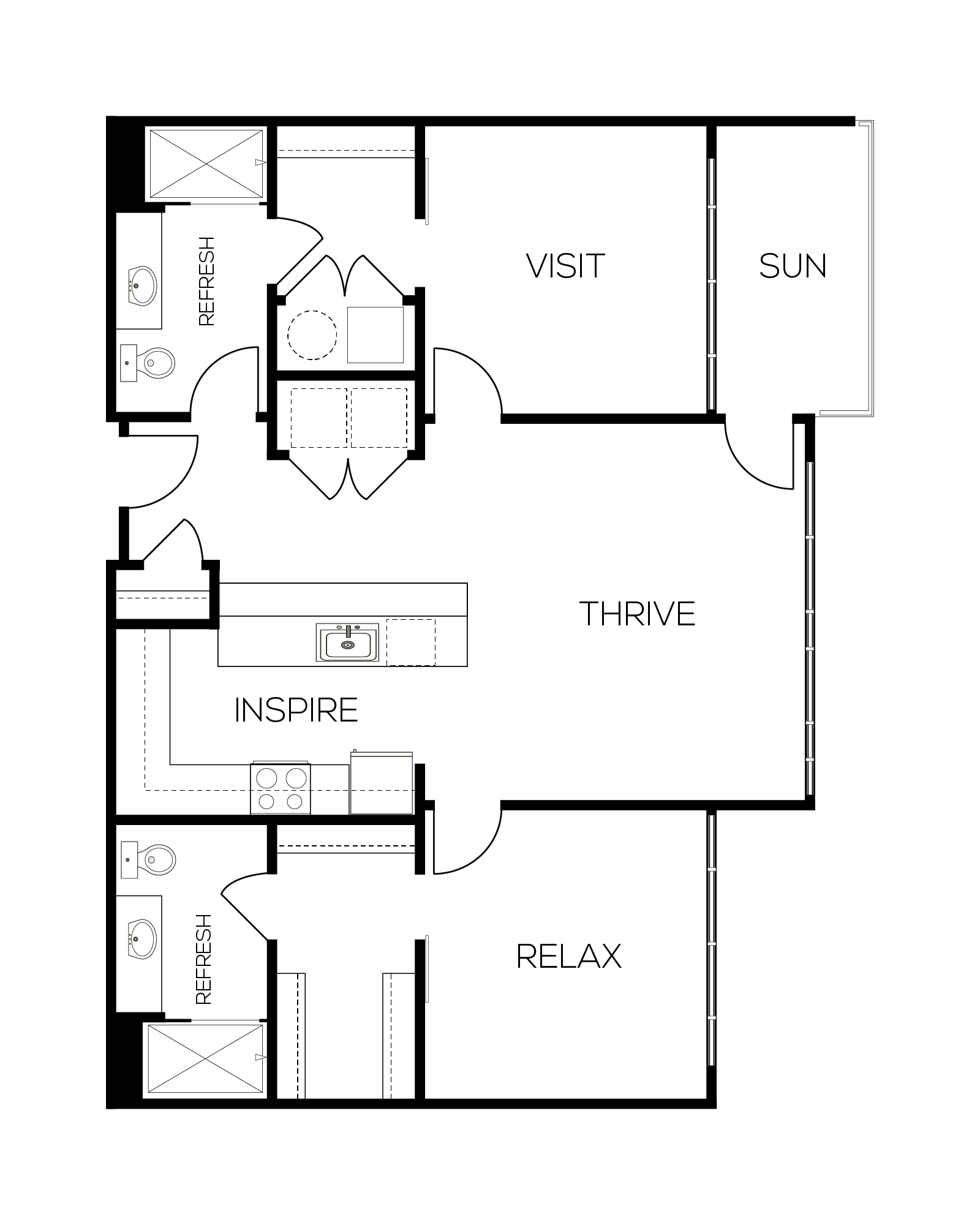 The Merlot Floor Plan