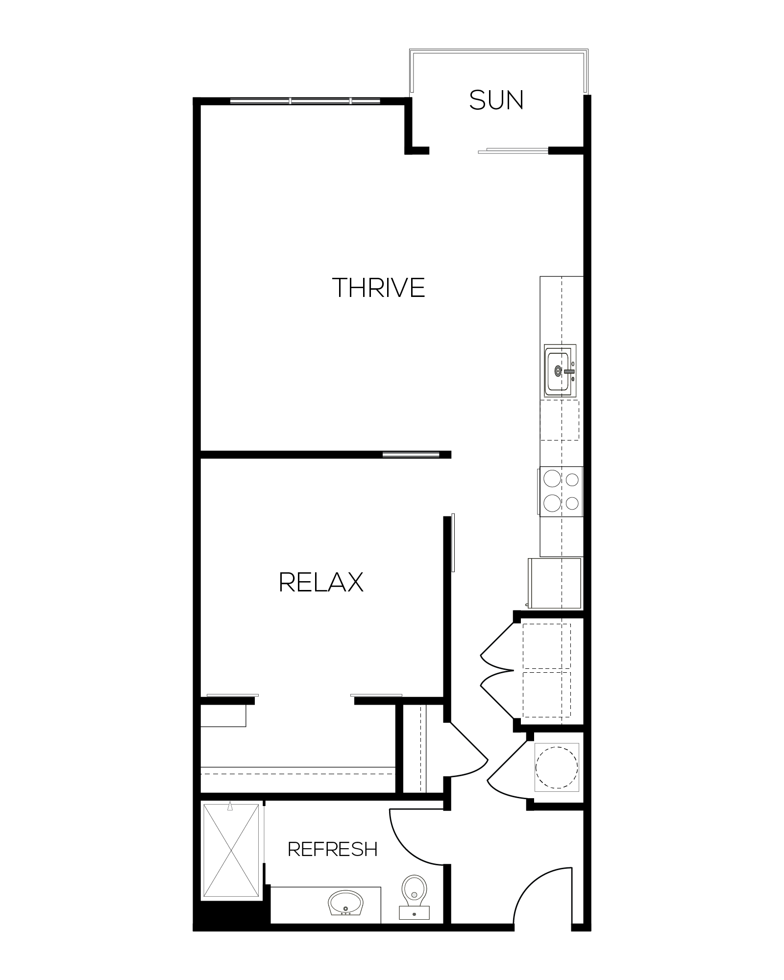 The Rouge Floor Plan