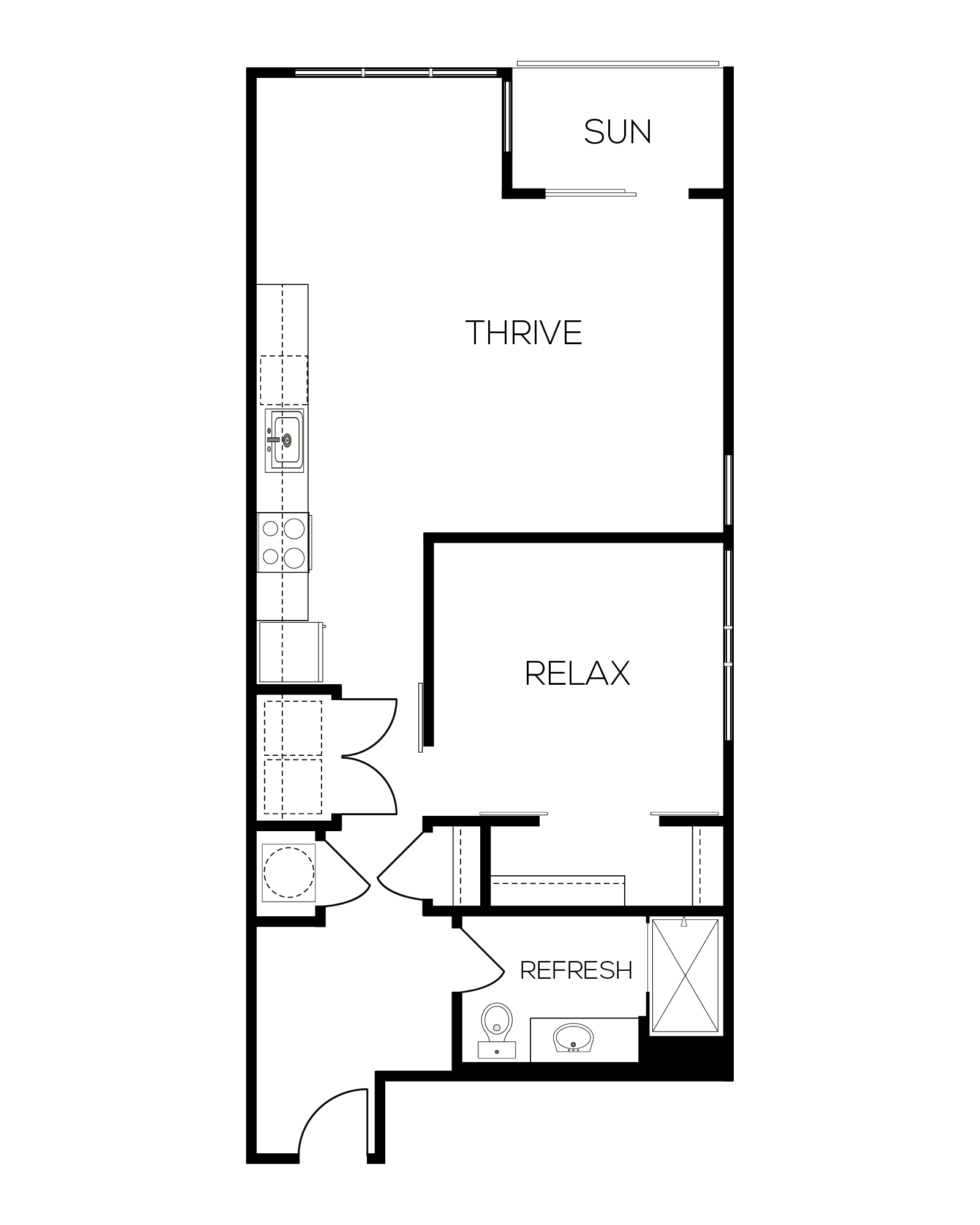The Ruby Alternate Floor Plan