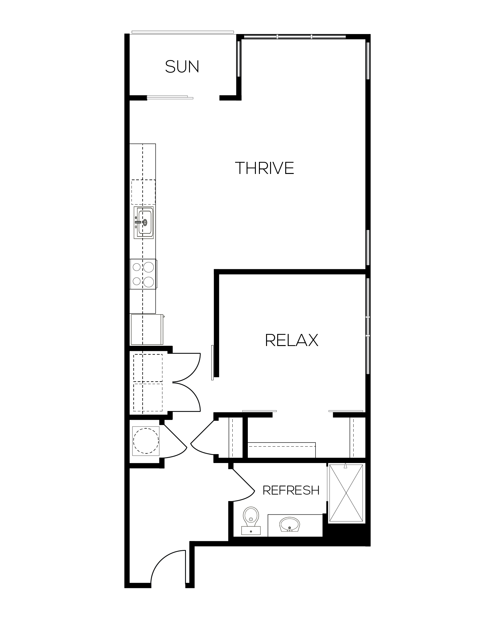 The Ruby Floor Plan